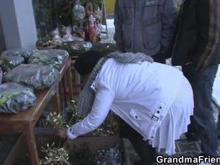 gerçeklik, eski, büyükanne