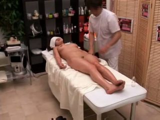 College girl seduced by masseur