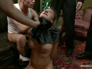 Amy Brooke Receive A Hard Fuck From A Group Of Hunk Guys
