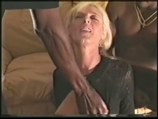 Mature swinger wife loves black cocks ...