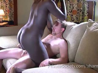 oholil kočička, cock sucking, interracial