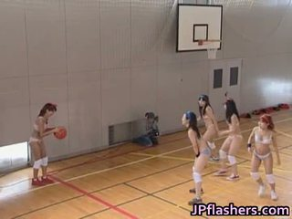 Basketball joueur fille baise