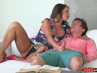 Moms Bang Teen - Stepmom offers studdy break - Porn Video 721