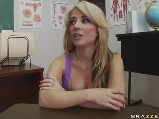 Extra Oustanding Python Has Extra Credits Not Far From Bigtitted Blonde Pedagogue Blake Rose