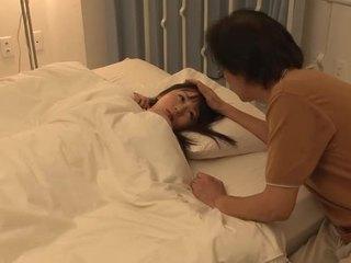 Seks dengan warga asia berambut lebat gal