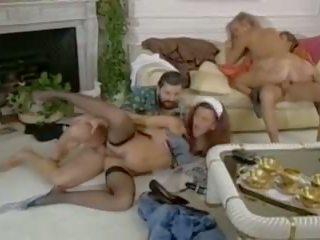 trio, wijnoogst, hd porn