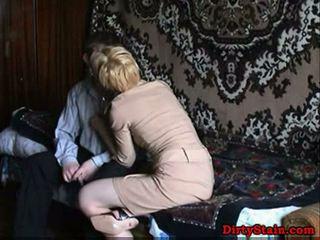 Lonely mom fuckes sons friend in krasan video