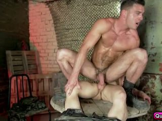 Five men for one hot group orgy