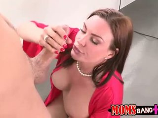 Abby Cross busts her bf with her stepmom