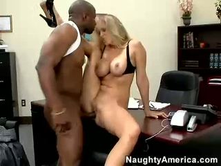 JuLia Ann Lick Her Pussy By A Bald Dark Dude