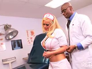 Nurse gets it in the ass