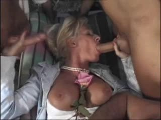 double penetration, grannies, matures