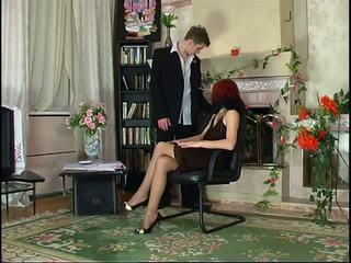 Руски чорапогащник червенокоси духане и чорапогащник майната.
