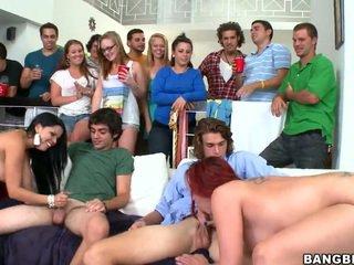 hardcore sex, college sex, orģija