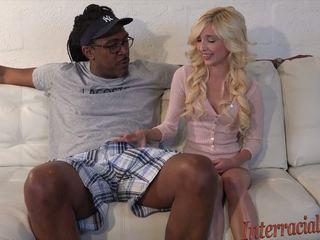 80lb blondi takes päällä 12 inch suurin musta kukko: hd porno b4