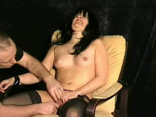 Electro torture and hardcore bdsm