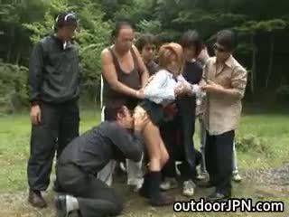 japoński, seks grupowy, interracial