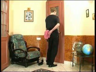 Russian nephew seduced by aunt