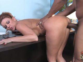 Janet Mason on a black repairman