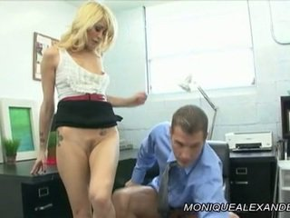 Monique alexander ace faire amour onto bureau table