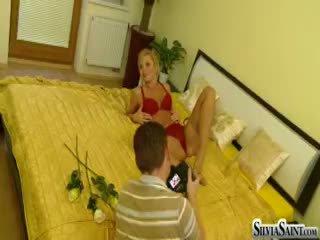 Vaatama an eksklusiivne taga the stseen featuring silvia saint!