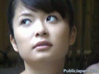 เอเชีย ผู้หญิงสวย เป็น a ร้อน สาวๆ getting felt