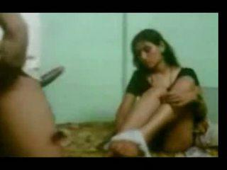 Northindian servant aunty knulling av henne sjef i h