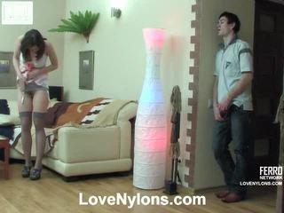 Jaclyn ja vitas ardent sukkahousut video- toiminta