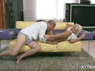 full cowgirl fun, shaved pussy, reverse cowgirl ideal