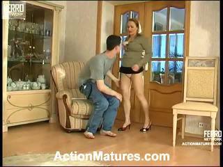 Sara và jerome seductive mẹ trong hành động