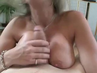 Breasty slut suck and tit fuck