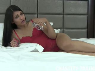 Your Cock is Now My Property, Free Chastity Trainer HD Porn