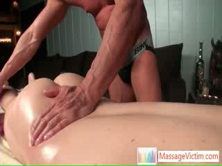 Scottie getting his awesome asshole massaged