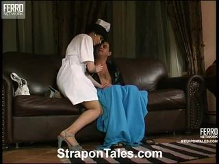 strap-on, female domination, femdom, big dic and teen, pussy and dildo, strapon