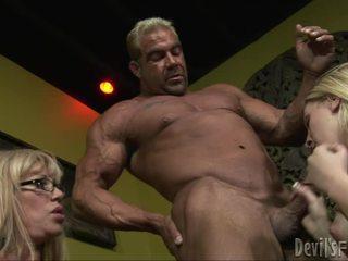 thổi công việc, groupsex, người đàn ông lớn tinh ranh quái