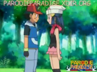 Pokemon エロアニメ ash x dawn