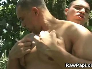Gay Latino Fuck In The Forest