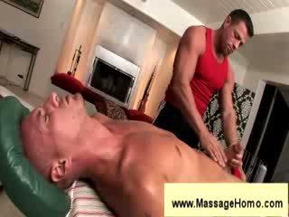 Troy michaels gives bisiklet için masseuse
