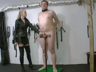 Sadistic CBT: Free Whipping HD Porn Video 6e
