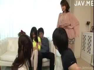 japonês, sexo grupal, boquete