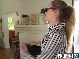 Propertysex - shady prawdziwy estate agent tricks klient do