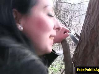 Czech Babe Cumswallows Fake Agents Spunk, Porn 77