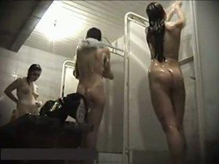 voyeur, dusch, dolda cam