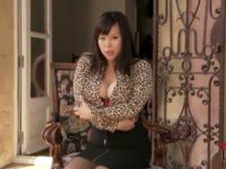 big boobs, stockings, asian