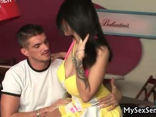 Tattooed wench acquires ia keras dan unfathomable