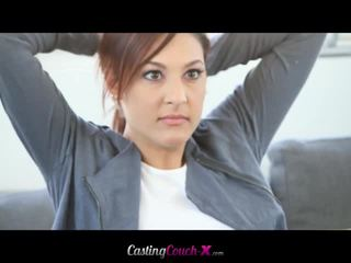 Gira gaja takes forte anal casting session
