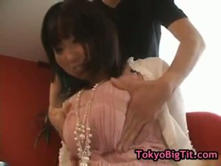 Busty asian babe gets breasts massaged part6
