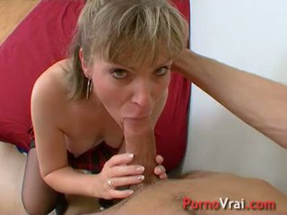 This financial advisor gets fucked during naughty afternoon! French amateur