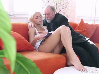 Tanya surprised by old man's sexual strength