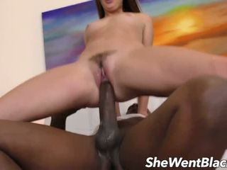 Teen Takes Mandingos Big Black Monster Dick in Her Ass